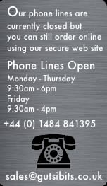 Our phone lines are closed, please  order online from our Shop